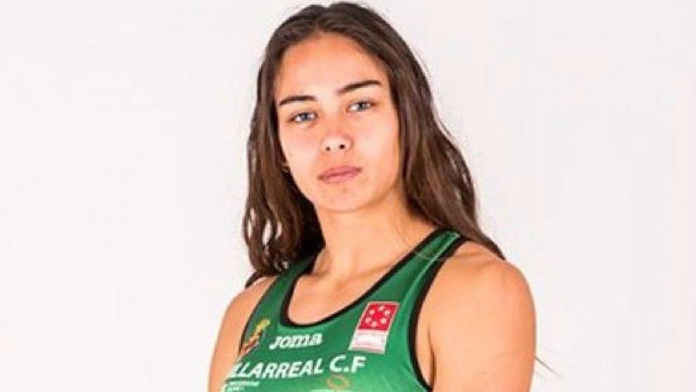 Carmen Ramos, atleta del CA Playas de Castellón.