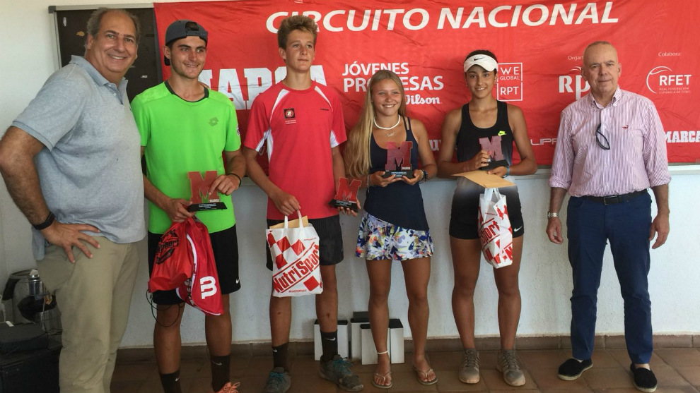 Entrega de premios del torneo del Circuito MARCA Jóvenes Promesas en...