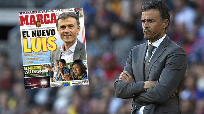 Luis Enrique es el nuevo seleccionador de España; Molina, nuevo director deportivo