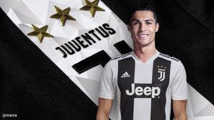 Cristiano Ronaldo se va del Real Madrid y ficha por la Juventus 1b6ce2203b733