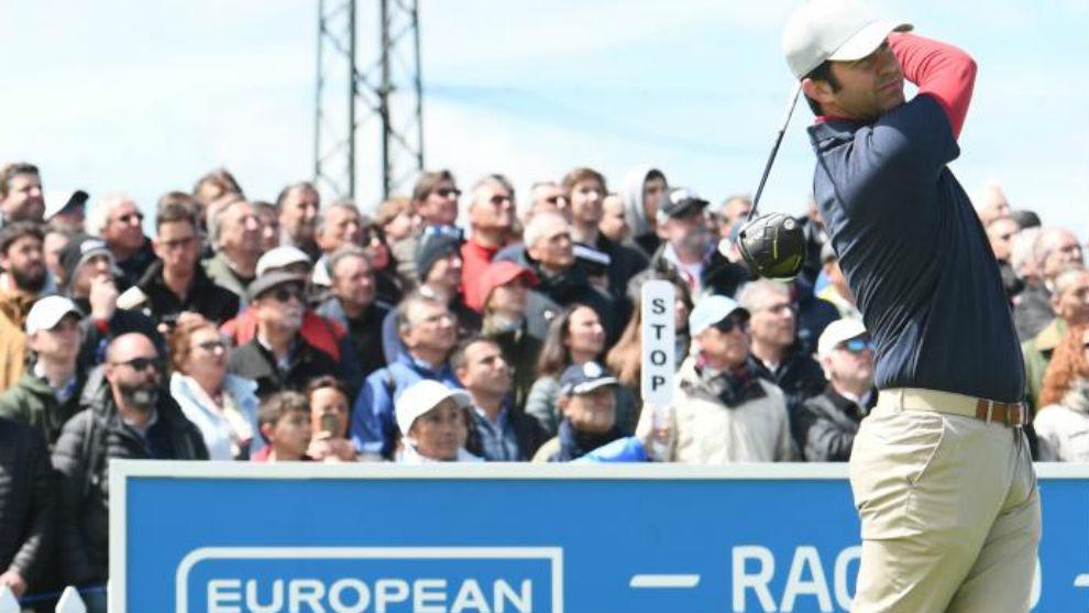 Jorge Campillo, durante el pasado Open de España.