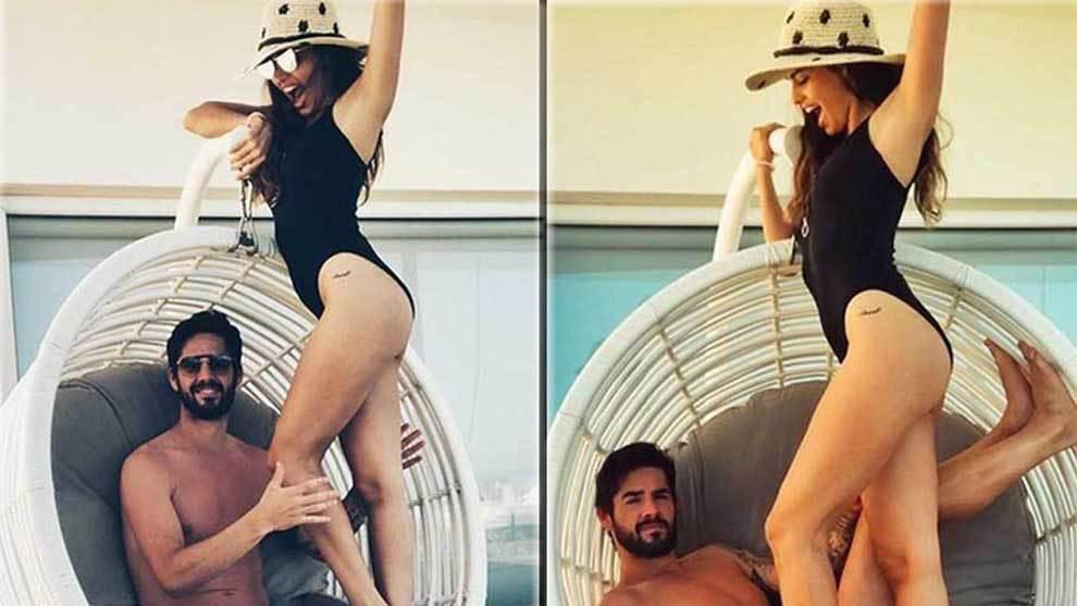 Isco y su famosa novia, la modelo y actriz Sara Sálamo, disfrutan de...