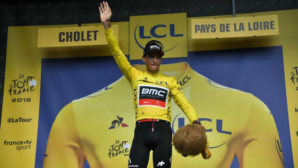 Greg Van Avermaet, nuevo líder del Tour de Francia.