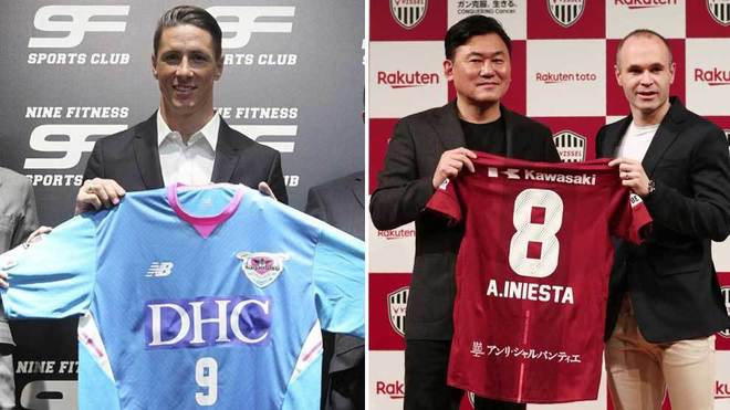 Fernando Torres: Ex-Liverpool and Chelsea striker signs for Japan's Sagan Tosu