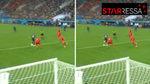 Taconazo magistral de Mbappé para dejar solo a Giroud