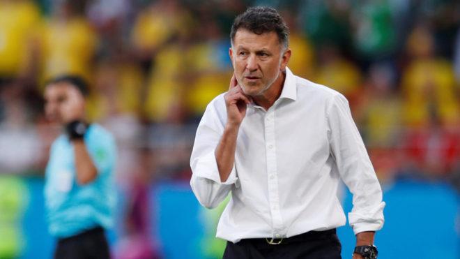 Juan Carlos Osorio durante el Mundial de Rusia 2018.
