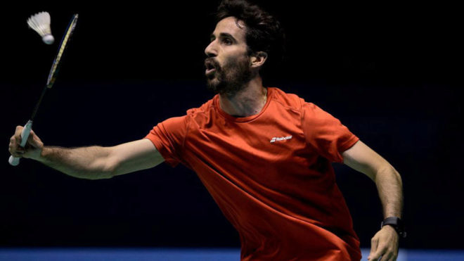 Pablo Abián, durante los Juegos Mediterráneos de Tarragona.