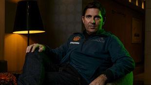 Xavi Pascual posa durante una entrevista para MARCA.