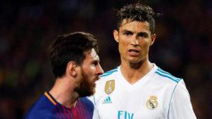 Cristiano y Messi, esta temporada.