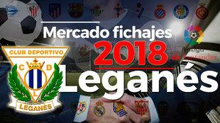 El mercado de fichajes del Leganés al detalle en la temporada...
