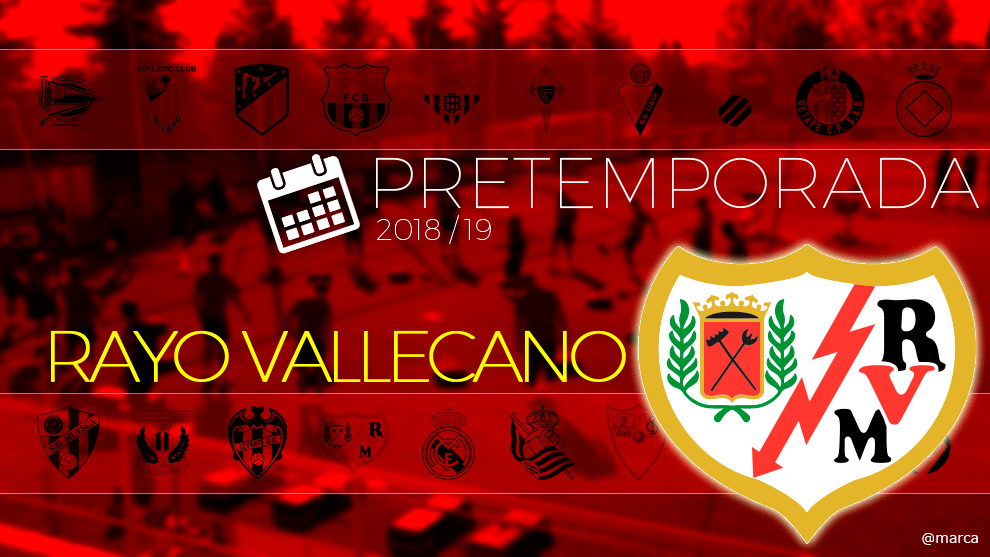 Toda la pretemporada 2018 del Rayo Vallecano al detalle.
