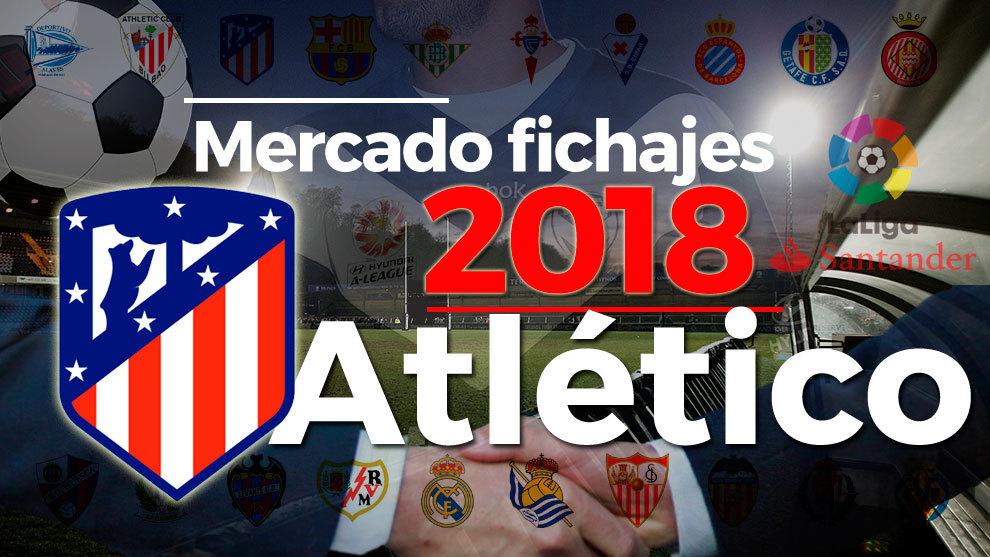 El mercado de fichajes del Atlético de Madrid en la temporada...