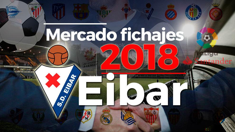El mercado de fichajes del Eibar al detalle en la temporada 2018-19.