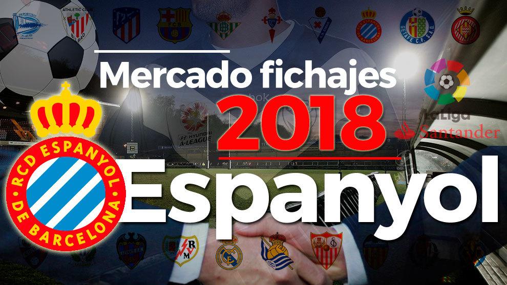 El mercado de fichajes del Espanyol al detalle en la temporada...