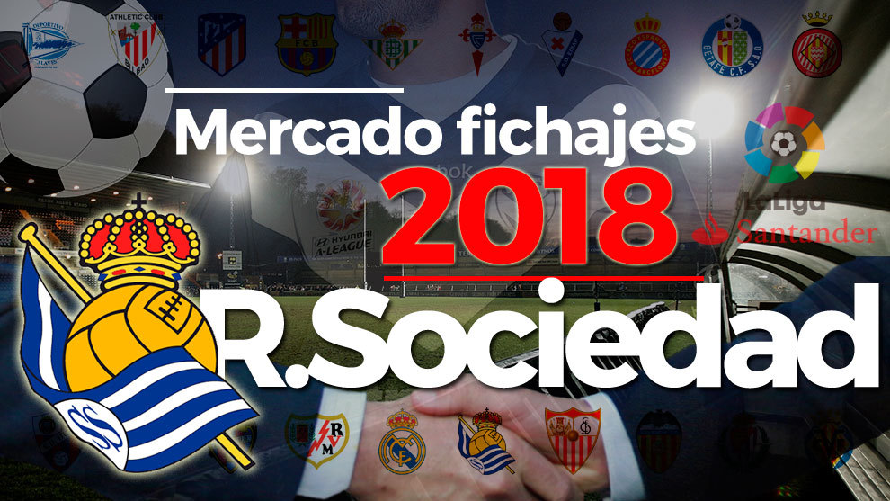 El mercado de fichajes de la Real Sociedad al detalle en la temporada...