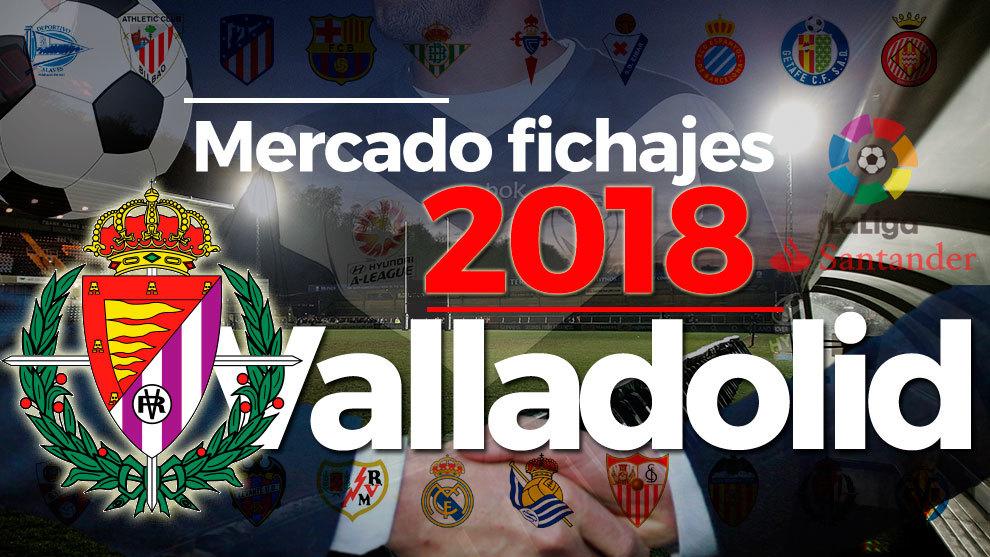 El mercado de fichajes del Valladolid al detalle en la temporada...