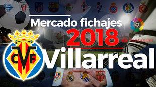 El mercado de fichajes del Villarreal al detalle en la temporada...