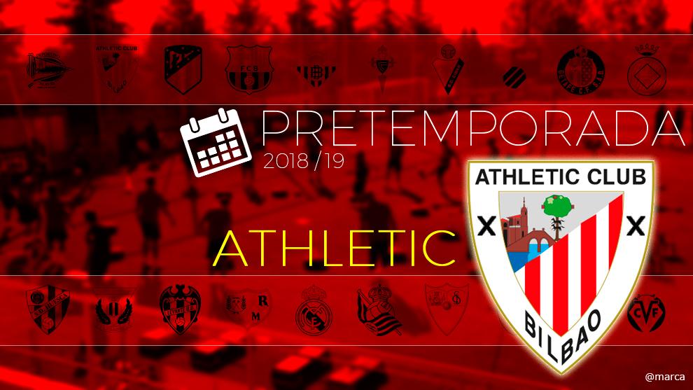 Toda la pretemporada 2018 del Athtletic de Bilbao al detalle.