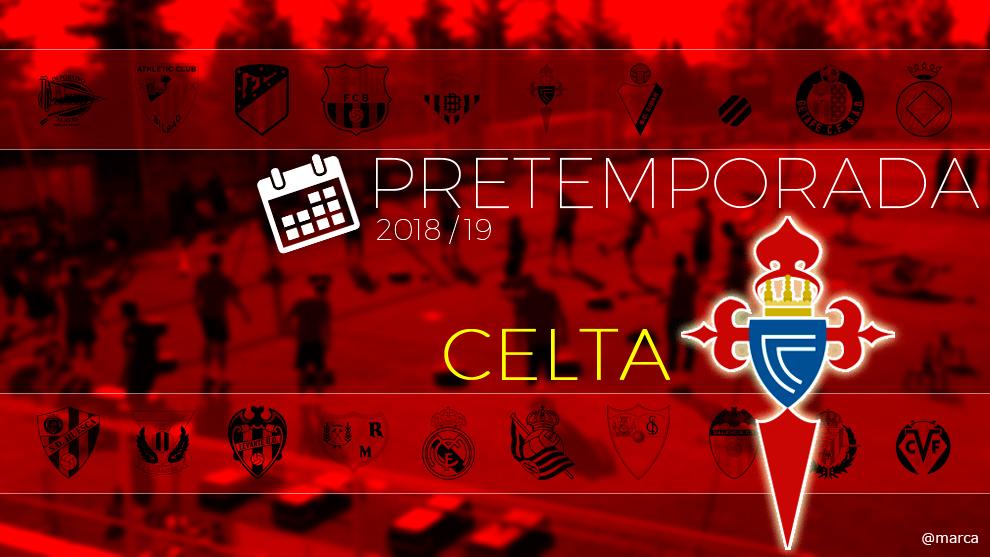Toda la pretemporada del Celta de Vigo al detalle.