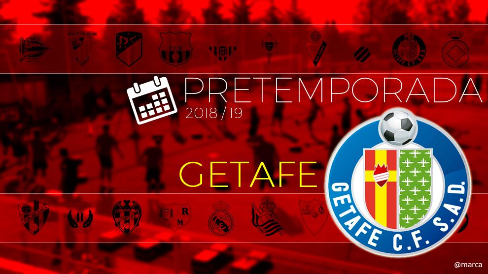 Toda la pretemporada 2018 del Getafe al detalle.