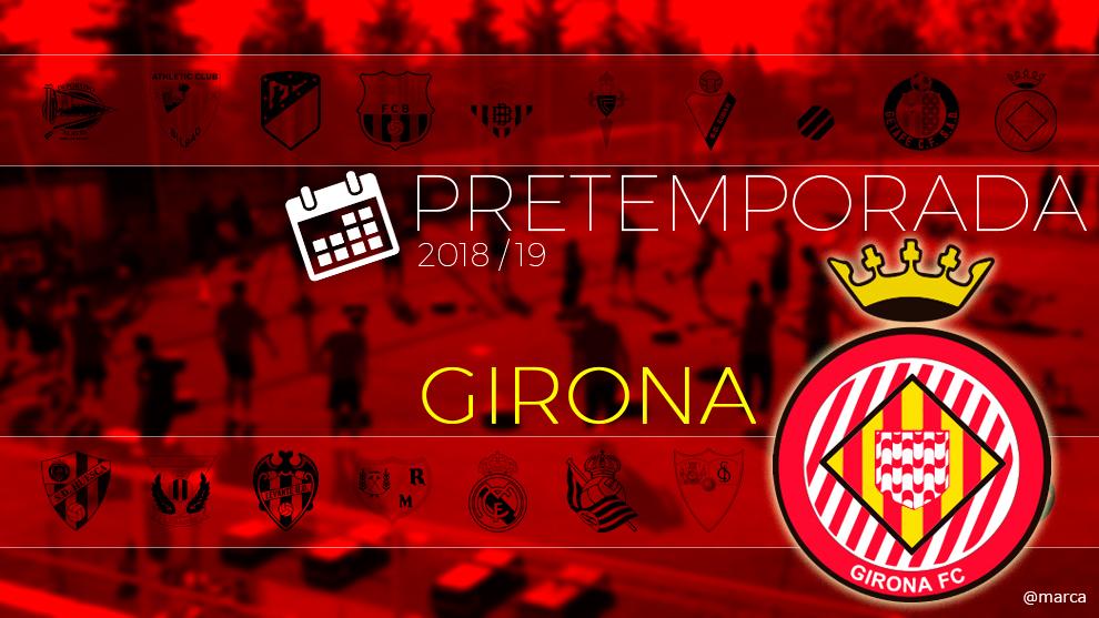 Toda la pretemporada 2018 del Girona al detalle.