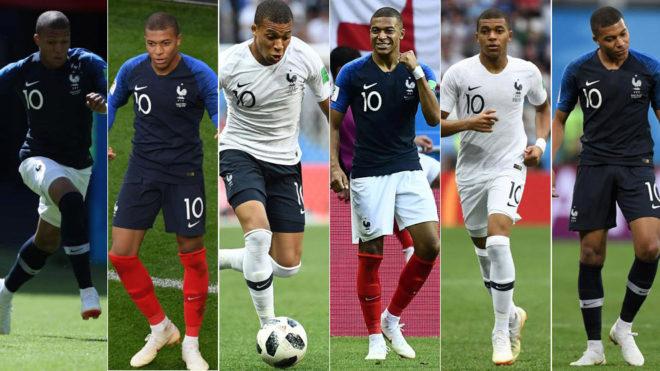 47f2150b0 Mundial 2018  El talismán de Francia para llegar a la final  ¡seis ...