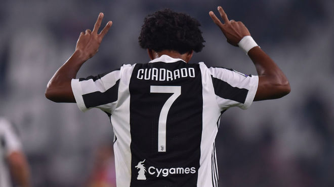 the latest 0d3ad f3059 Serie A - Juventus: Cuadrado officially gives up his No. 7 ...