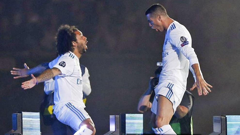 ¡La hora sad! Así se despidió Marcelo de Cristiano Ronaldo