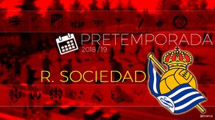 Toda la pretemporada 2018 de la Real Sociedad al detalle.