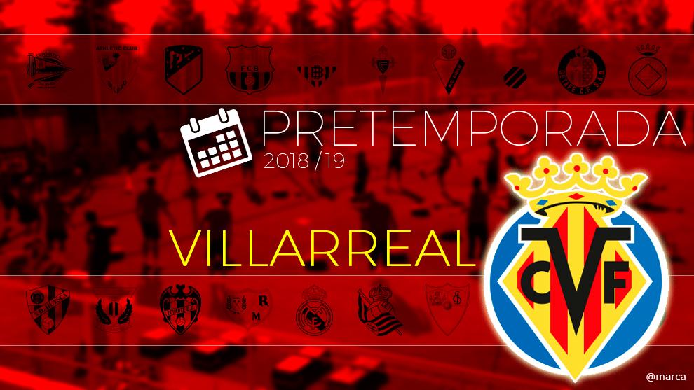 Toda la pretemporada 2018 del Villarreal al detalle.