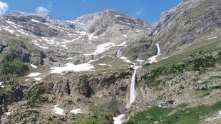 Imagen de archivo del valle de Pineta