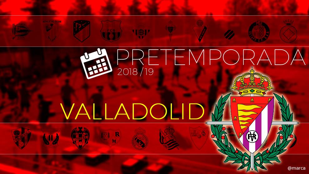 Toda la pretemporada 2018 del Valladolid al detalle.