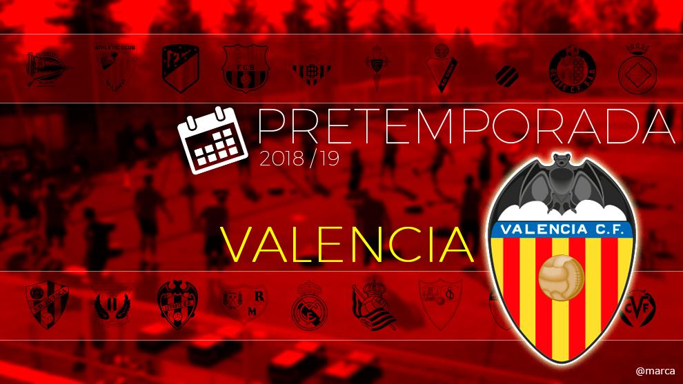Toda la pretemporada 2018 del Valencia al detalle.