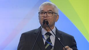 Manoel Luiz Oliveira, presidente de la Confederación Brasileña de...