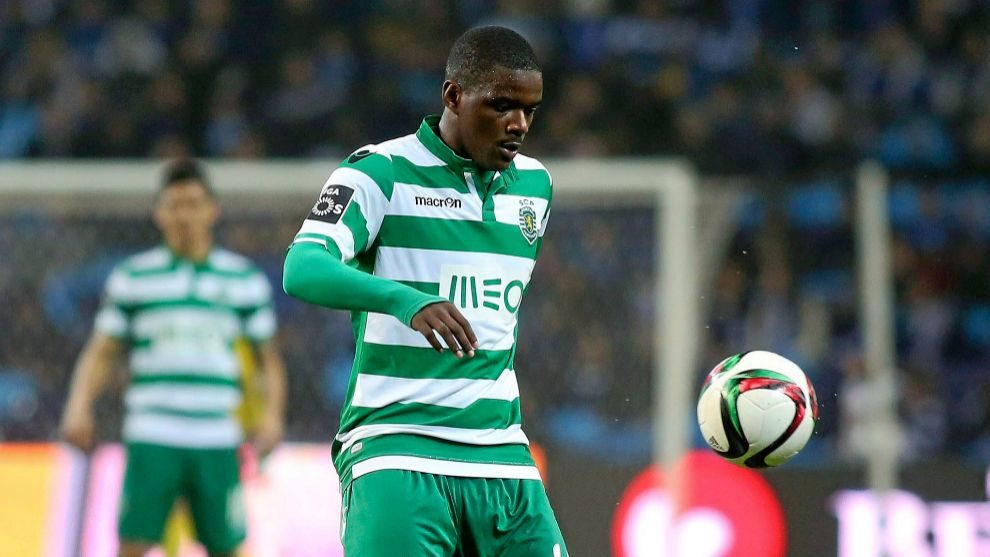 William Carvalho, con el Sporting de Portugal