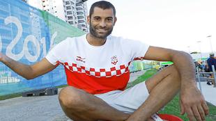 Xavier García, durante los Juegos de Río 2016