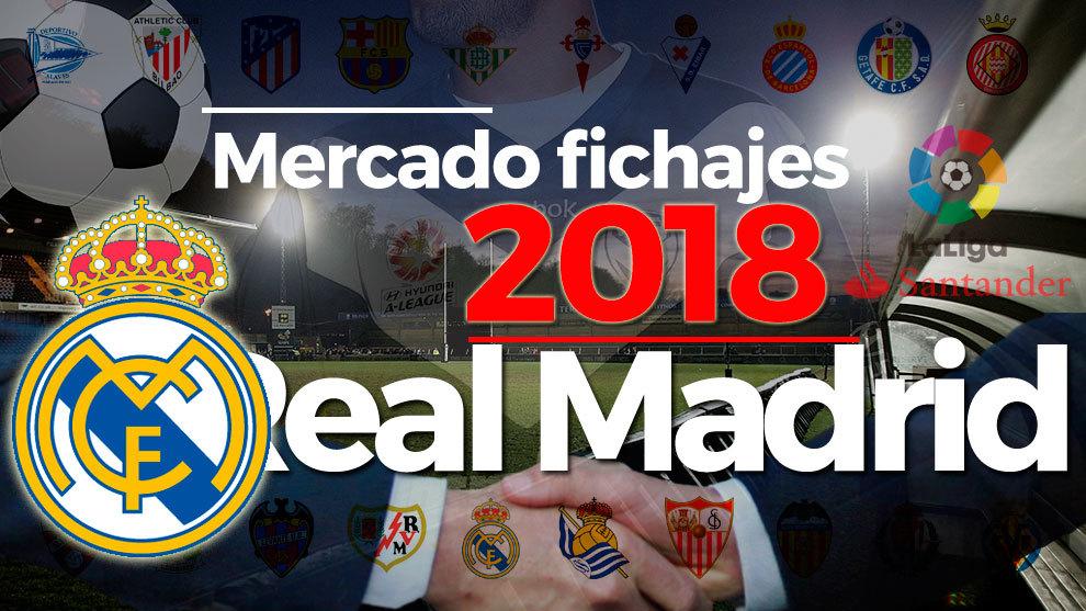 El mercado de fichajes del Real Madrid al detalle en la temporada...
