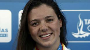 Catalina Corró, medalla de oro en 400 estilos durante los XVIII...