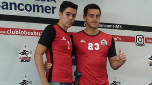 Eduardo Tercero y Alejandro Duarte, en conferencia de prensa