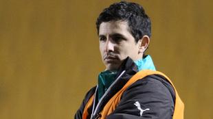 Jorge Macías, entrenador de Santos Femenil