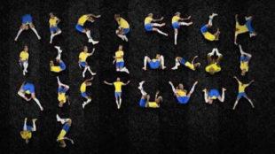 The alphabet according to Neymar