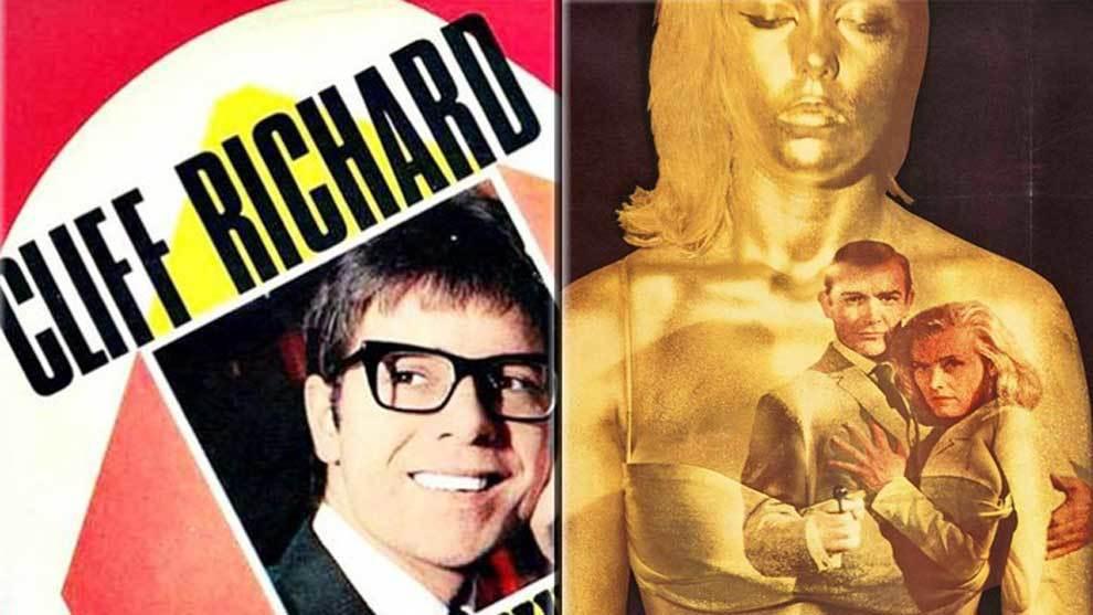 Los cantantes Cliff Richard (Congratulations) y Shirley Bassey...