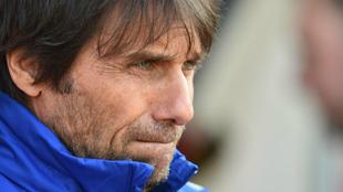 Antonio Conte, durante su etapa como entrenador del Chelsea.