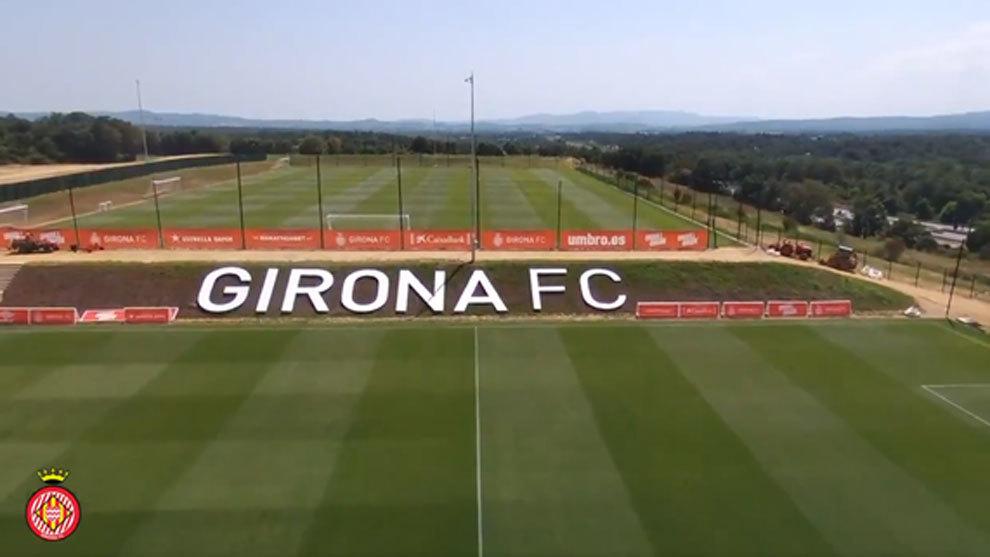 La nueva ciudad deportiva del Girona FC.
