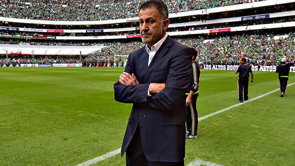 Osorio previo al partido de la eliminatoria de la Concacaf entre...