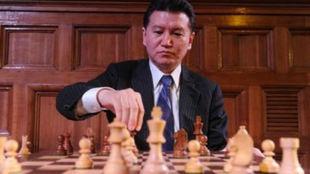 Kirsan Ilyumzhínov, presidente de la Federación Internacional de...