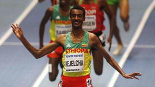 El etíope Yomif Kejelcha