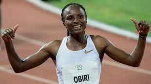 La keniana Hellen Obiri