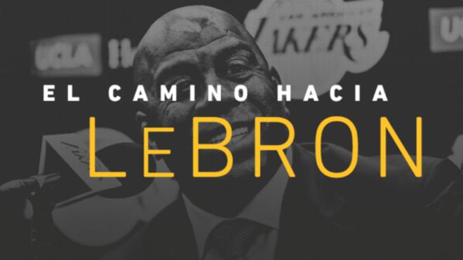 LeBron James apoya a sus Lakers desde la banca