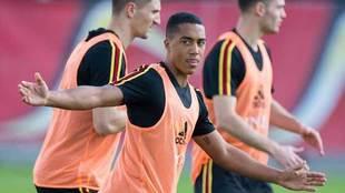 Alineaciones del Bélgica vs Inglaterra: Tielemans, novedad belga y...